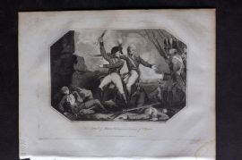 Lyttleton 1810 Military. Attack of Morne Fortune in Island of St. Lucia, Carribean